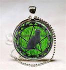 cabochon green cat