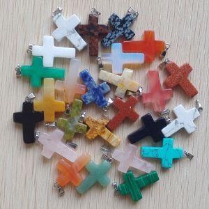 crosses various colours