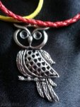 owl and cords