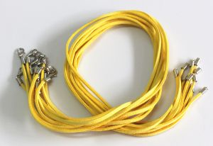 yellow suade 20 inch